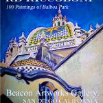 """Balboa Park Paintings Poster"" by RDRiccoboni"