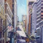 """California Street, San Francisco"" by letspainttv"