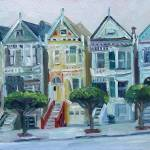 """Painted Ladies, San Francisco"" by letspainttv"