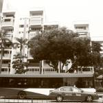 """Town Singapore BW , Tampines, Travel"" by sghomedeco"