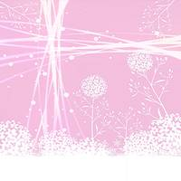 pink and white Abstract Flowers