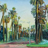 Beverly Drive, Beverly Hills Art Prints & Posters by John Kilduff