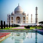 """Taj Mahal Morning"" by mjphoto-graphics"