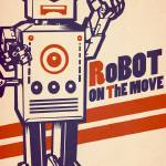 """""""Robot on the move"""" by MLaznicka"""