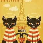 """Paris Chat"" by MLaznicka"