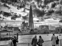 The Shard London - Monochrome