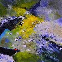 abstract 88412112 Art Prints & Posters by pol ledent