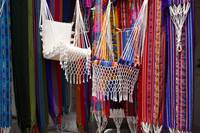 Stall Selling Hammocks in Otavalo