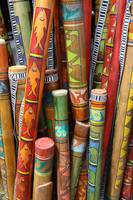 Hand Painted Rain Sticks