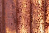 Rust Covered Door