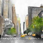 """NYC"" by LaurenMaurerStudio"