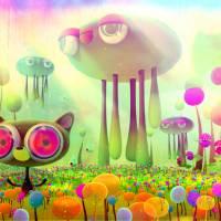 cloud-sheep Art Prints & Posters by jonathan ball