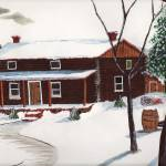 """""""Winter Mountain Cabin"""" by jeco711"""