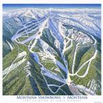 """Montana Snowbowl, Montana"" by jamesniehuesmaps"