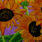"""""""Sunflowers"""" by anthonydunphy"""