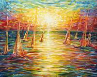 Yacht and Sailing Painting