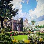 """Winter in Balboa Park San Diego California"" by BeaconArtWorksCorporation"