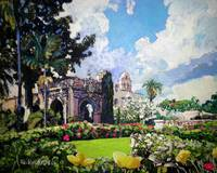 Winter in Balboa Park San Diego California