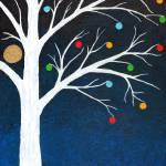 """""""Winter Tree"""" by LimeCreekArt"""