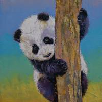 Peekaboo Art Prints & Posters by Michael Creese