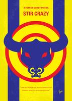 No382 My Stir Crazy minimal movie poster