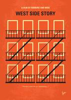 No387 My West Side Story minimal movie poster