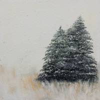 Snow Trees Art Prints & Posters by Seth Larson