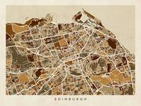 Edinburgh Street Map
