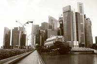 Urban Singapore 2014 monochrome