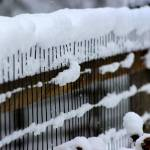 """Snow Fence Abstract"" by KsWorldArt"