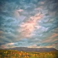 Smokey Mountain Sky Art Prints & Posters by Jeff Adkins