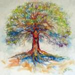 """TREE OF LIFE HOPE"" by MBaldwinFineArt2006"