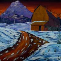 Country Dawn Art Prints & Posters by Anthony Dunphy