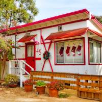 Cottage 45 Crystal Cove Xmas Edition Art Prints & Posters by Robert Meyers-Lussier