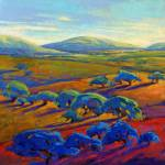"""Rolling Hills 2, 521212"" by KonnieKim"