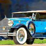 """1932 Packard Phanteom"" by ArtbySachse"