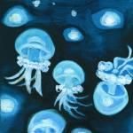 """J for Jellyfish of Alphabet City"" by artchiz"