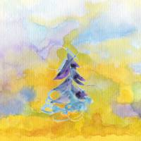 Joy Overflowing Art Prints & Posters by MARINA KANAVAKI