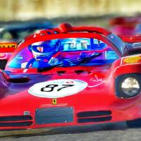 Ferrari 512 Art Prints & Posters by Tom Sachse