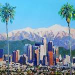 """Downtown Los Angeles California"" by BeaconArtWorksCorporation"