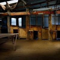 Boorowa Shearing Shed Art Prints & Posters by Stuart Row
