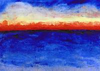 Sunrise Seascape Abstract 2c
