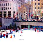 """Rockefeller Center ice rink NYC"" by TomJelen"