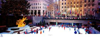 Rockefeller Center ice rink NYC