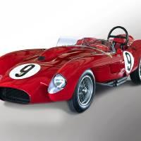 1958 Ferrari 250GT Testa Rossa V 'Studio' Art Prints & Posters by Dave Koontz