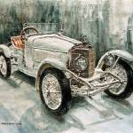 """1923 Mrecedes PS Sport-Zweisitzer"" by JoeyAgbayani"