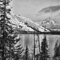 Tetons B&W Art Prints & Posters by Paul Coco