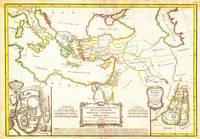 1771 Bonne Map of the New Testament Lands with Hol