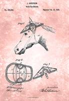 US100000-0 Horse Sun-bonnet Patent From 1870
