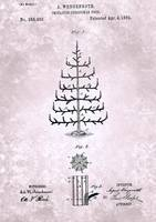 US255902-0 Imitation Christmas Tree Patent From 18